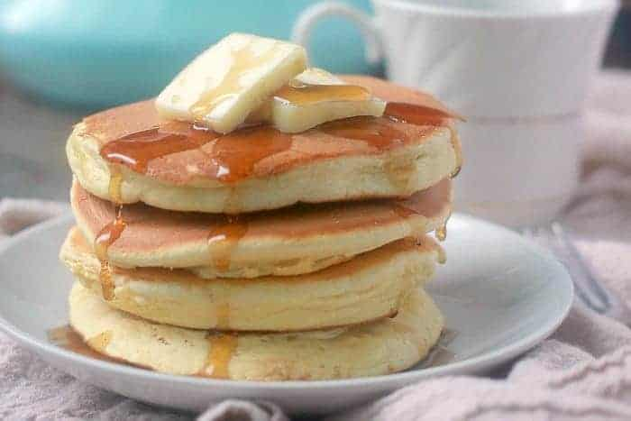 Light and Fluffy Soufflé Pancakes
