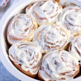 Classic Cinnamon Rolls with Cream Cheese Frosting