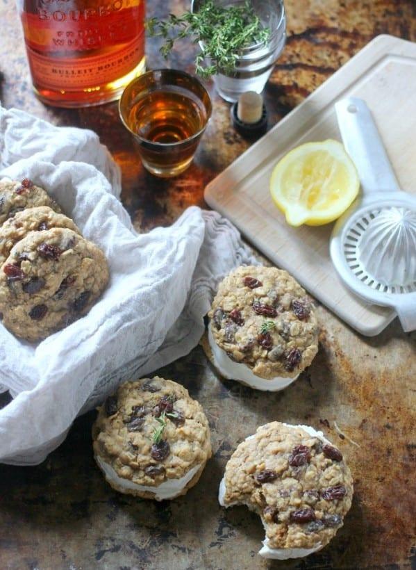 bourbon-oatmeal-cookies