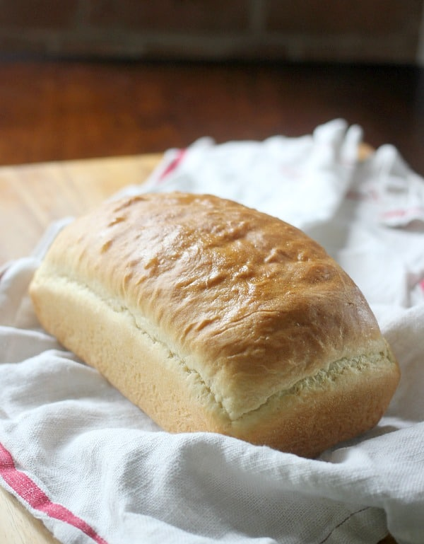 Loaf of yeast bread