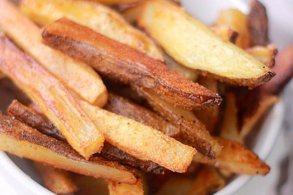 Crispy Fries tossed in seasoning
