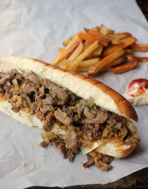 Philly Cheesesteak Sandwich- Baker Bettie