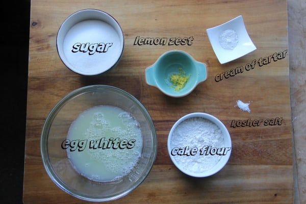 Mise en place of all dry ingredients, measured out