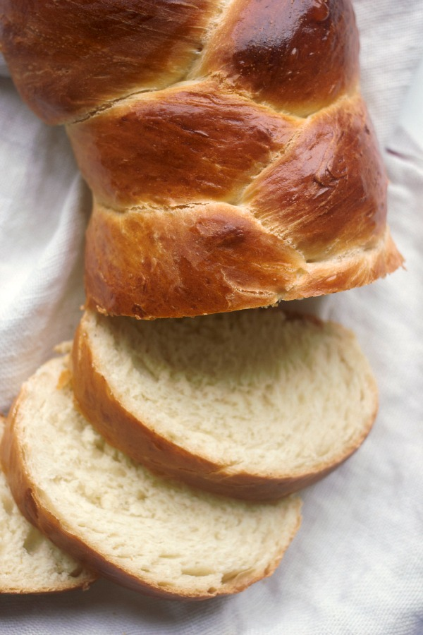 Three Braid Basic Challah Bread   Baker Bettie