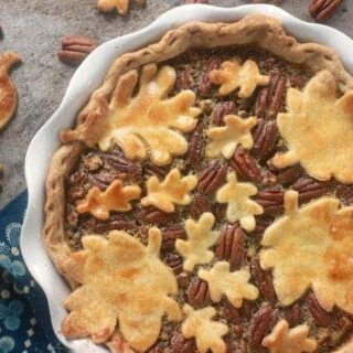 Salted Maple Pecan Pie