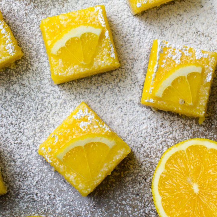 How to Make the BEST Lemon Bars