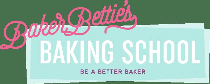 Baker Bettie's Baking School logo