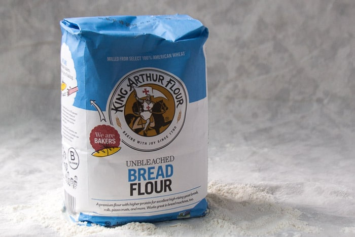 A package of Bread Flour