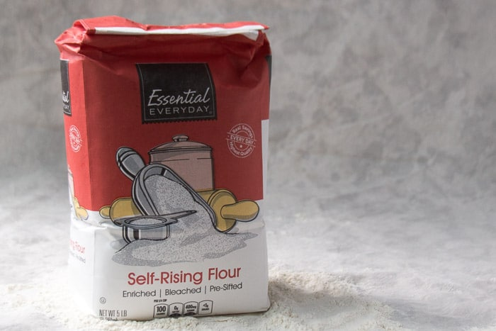 A package of Self-rising flour