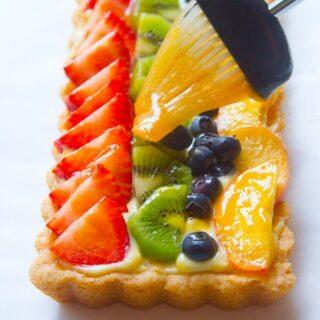 Basic Fruit Glaze (Fruit Tart Glaze, Fruit Pizza Glaze)