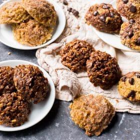 3 flavors of No-Bake Cookies