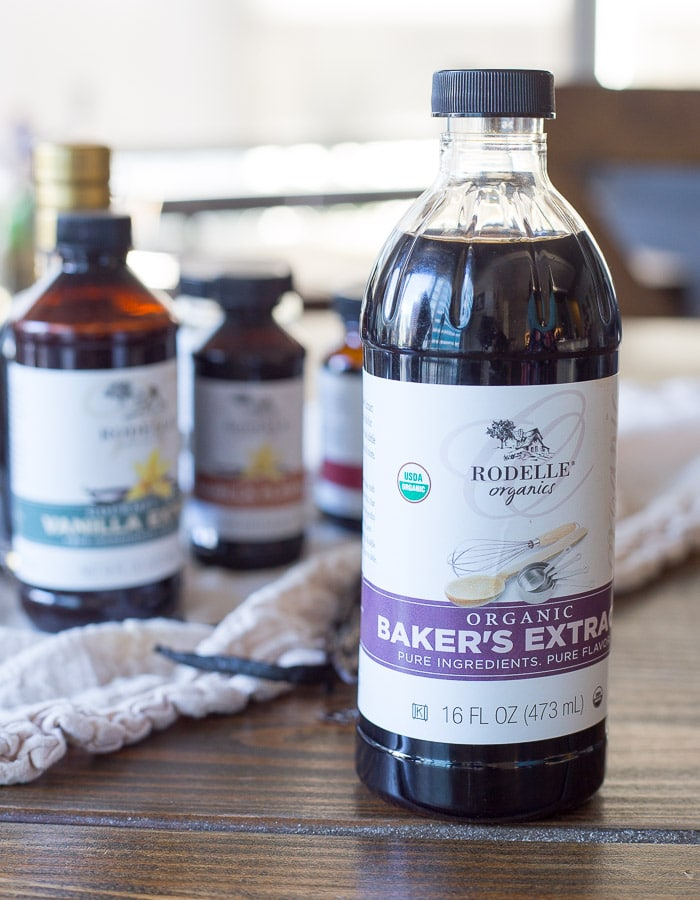 A bottle of Baker's Extract