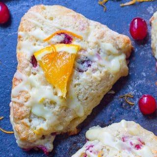 Orange Glaze for Cookies, Cakes, and Scones