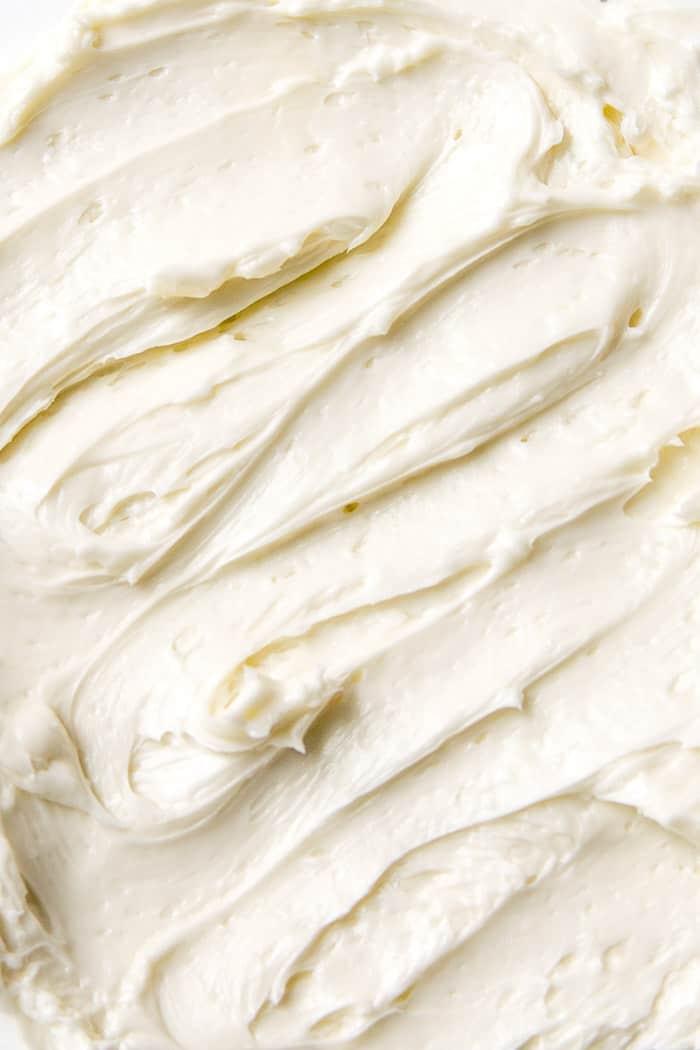 Silky smooth buttercream