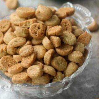 Peppernuts (Pfeffernusse Cookies)