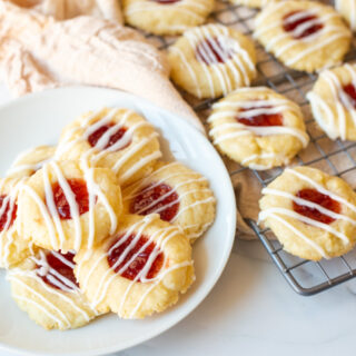 Shortbread Thumbprint Cookies