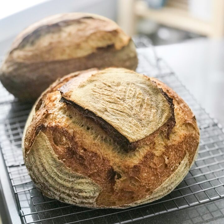 Bettie's Basic Sourdough Bread
