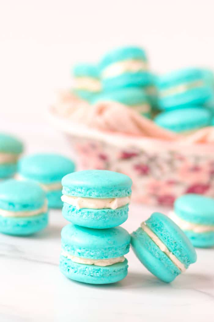 How To Make French Macarons Macaron Tutorial Baker Bettie