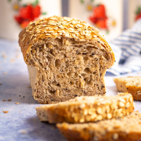 Soft Seeded Sandwich Bread
