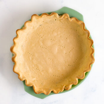 pie crust that has been fully blind baked