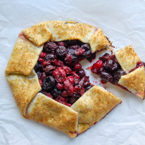Cherry Pie Galette