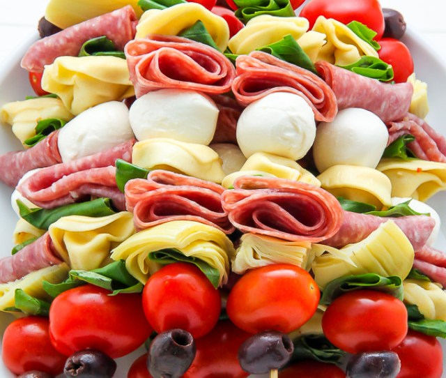 Antipasto Skewers Easiest Appetizer Ever