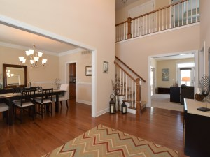 Hardwood Floor Foyer