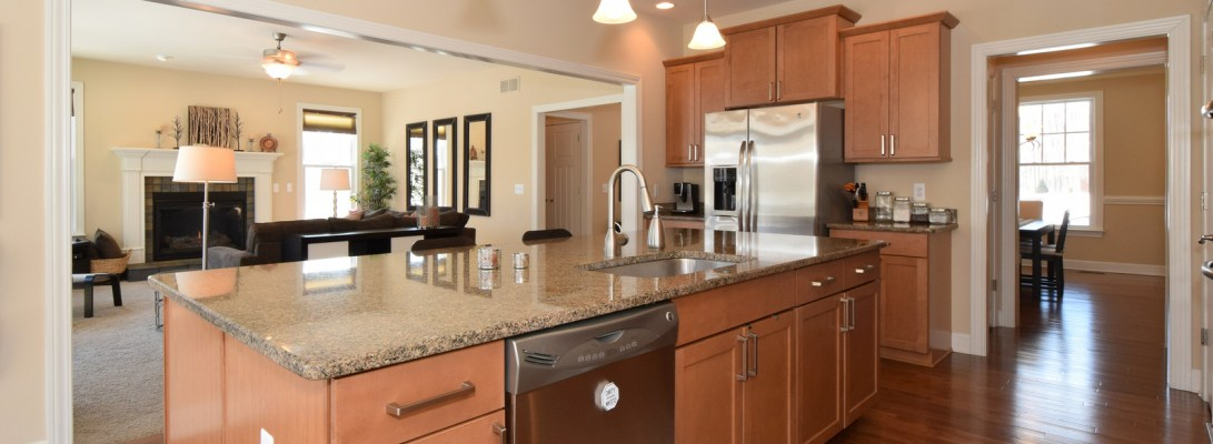 Granite Island with Sink