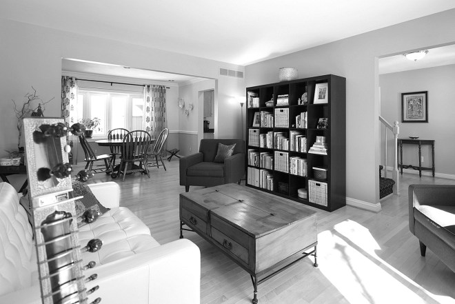 Living Room BW