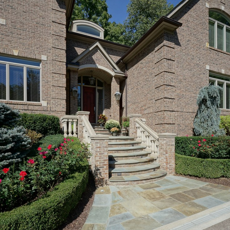 Heated Front Steps