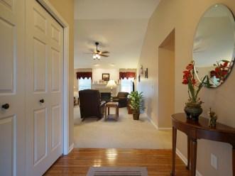 Hardwood Foyer