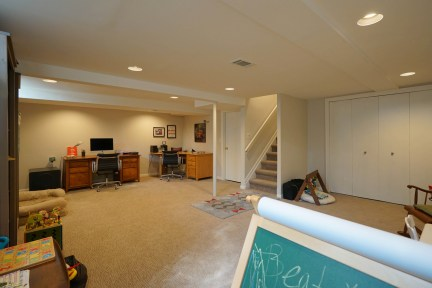 Finished Basement with Egress