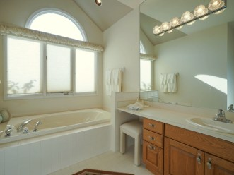 Master Bath with Shower and Tub