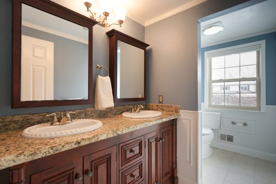Full Bath with Double Sink