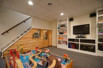 Clubhouse Under Stairs