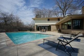 Rear Yard and Pool