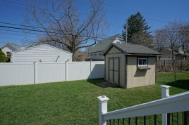 Fenced Yard and Shed