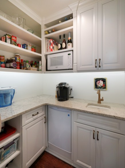Pantry with Prep Sink