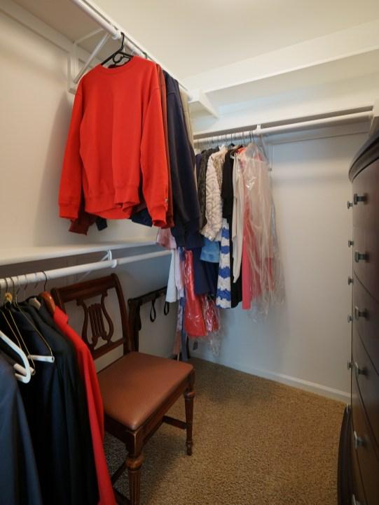 Guest Suite Closet
