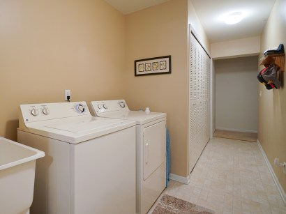 Laundry and Garage Access