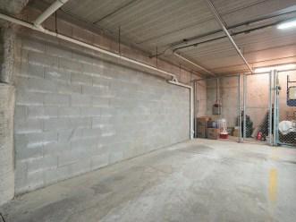 Parking Space with Storage Locker