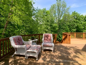 Deck with Wooded Views