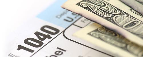money on tax form