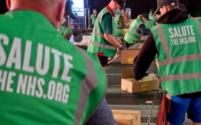 A Million Meal Packs from Salute the NHS