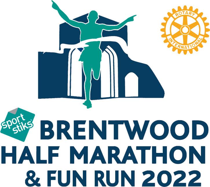 Brentwood Half Marathon logo 2022
