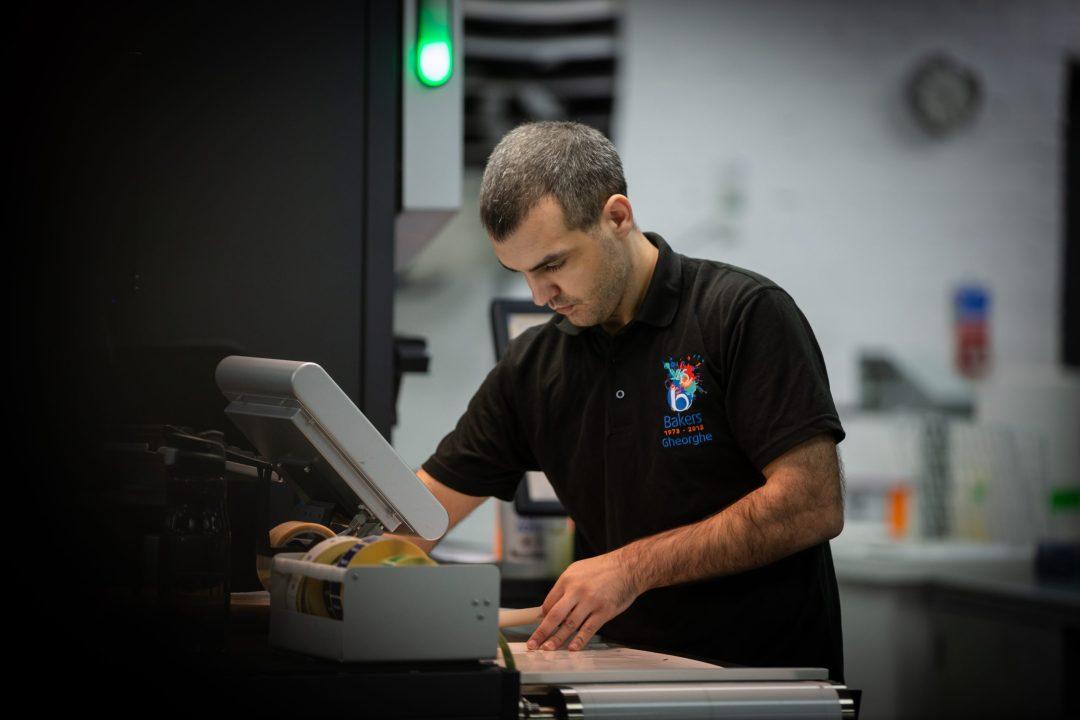 HP Indigo operator