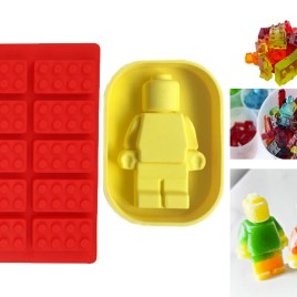 Lego Cake Fondant and Man Silicone Mold