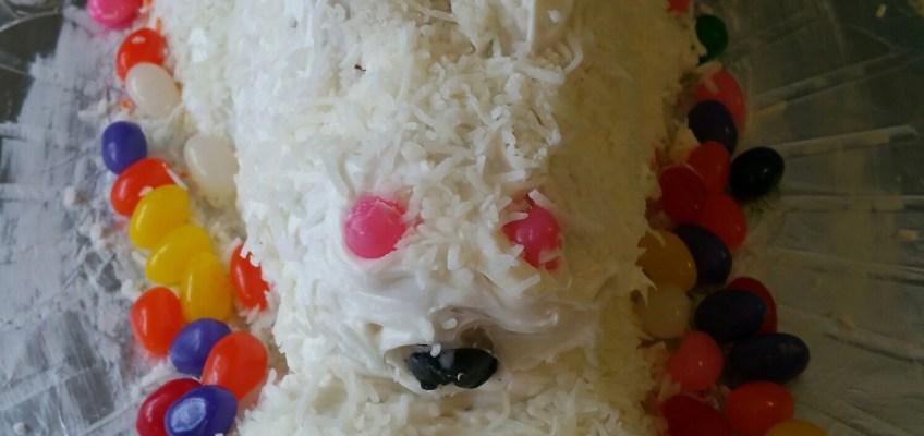 cake, bunny, gluten free, family, easter, easter Sunday,