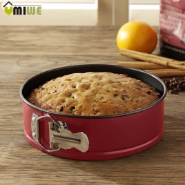 Round Baking Pans Removable Base