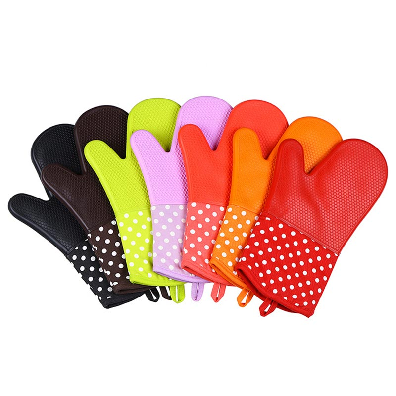 1Pcs-Baking-Gloves-Silicone-Thickening-Non-slip-Anti-Scald-Heat-Resistant-Glove-Microwave-Oven-Kitchen-Cooking-3 Image Gallery